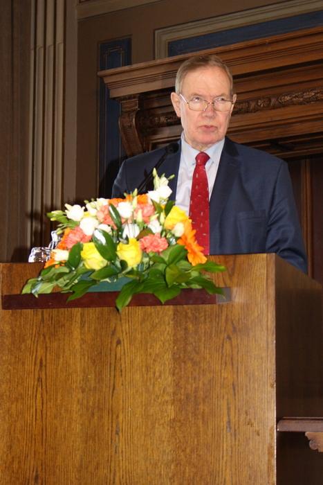 Entinen pääministeri Lipponen_Arktinen Forum 12.4.2018