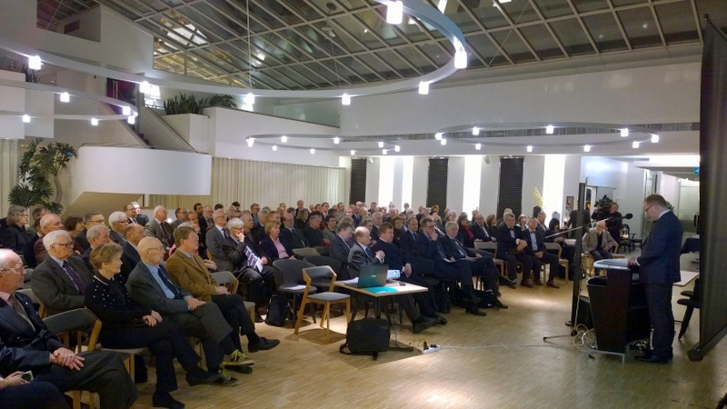 Mr.Mihkelson and Paasikivi Society audience 9.2.2016