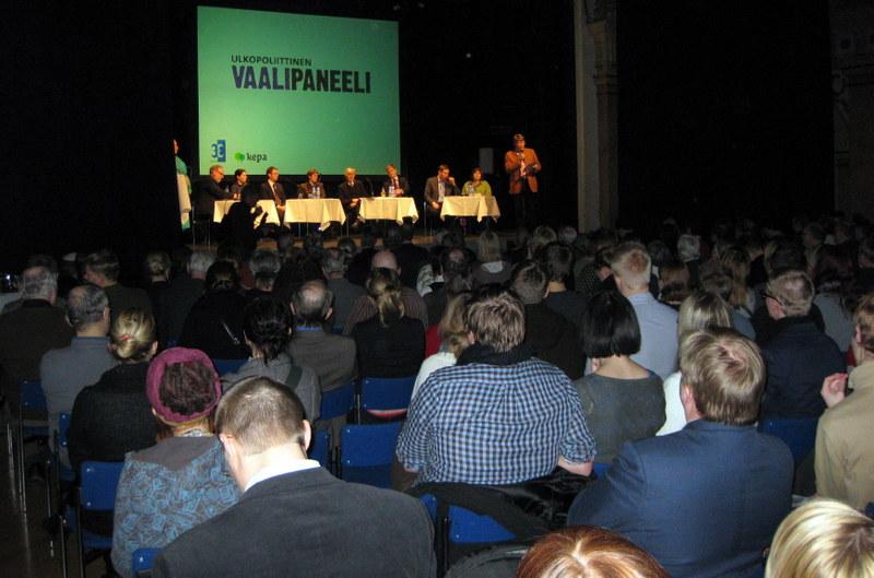 Ulkopoliittinen vaalipaneeli 1.3.2011