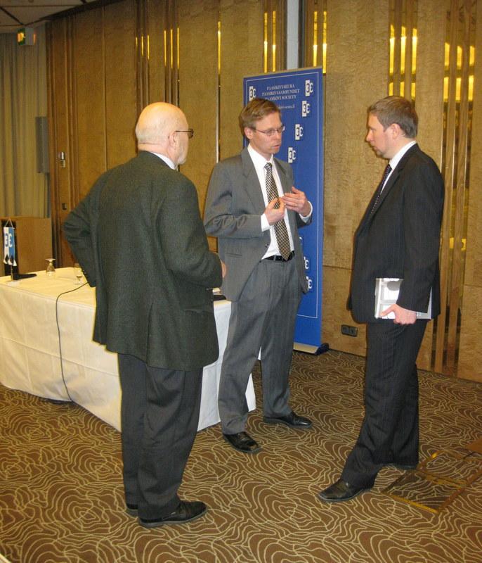 Paasikivi-Seuran kokous 23.2.2010