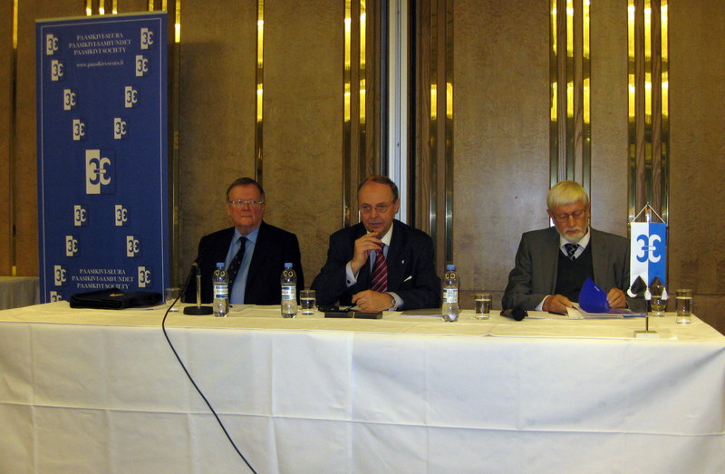 Paasikivi-Seuran kokous 26.10.2010