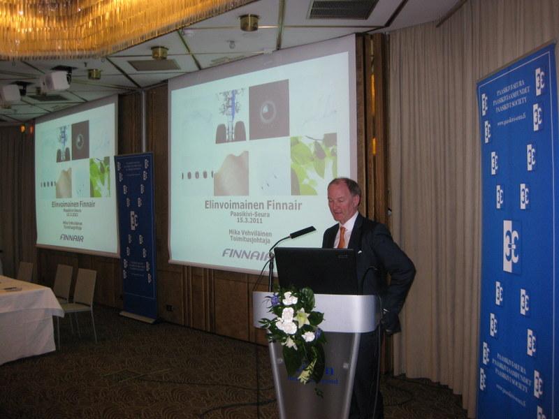 Paasikivi-Seuran kokous 15.3.2011